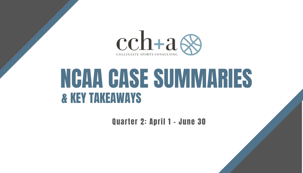 2020 Quarter 2 Case Summaries